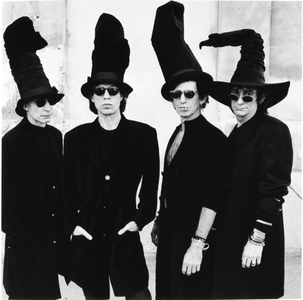 The Rolling Stones in black and white. All images courtesy of Rolling Stones Archive.