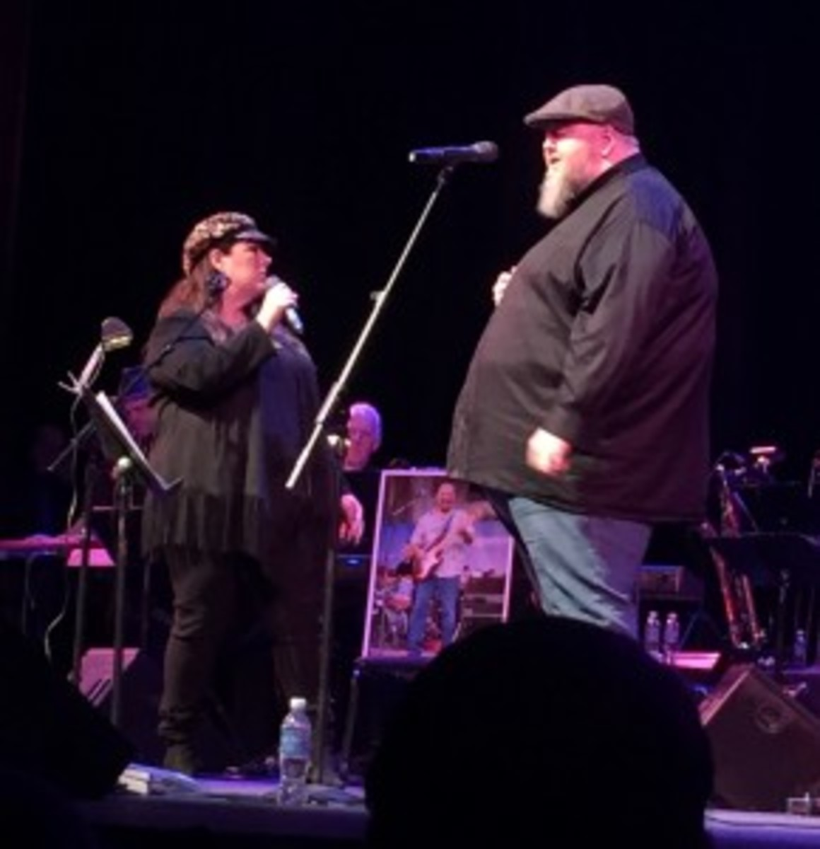 Carnie Wilson and Thomas Walsh of Pugwash