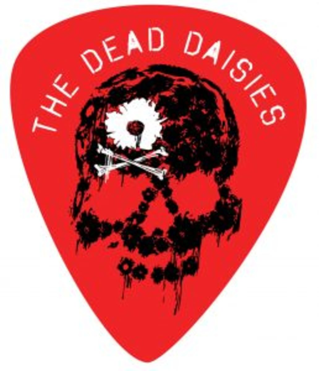 A Dead Daises guitar pick.