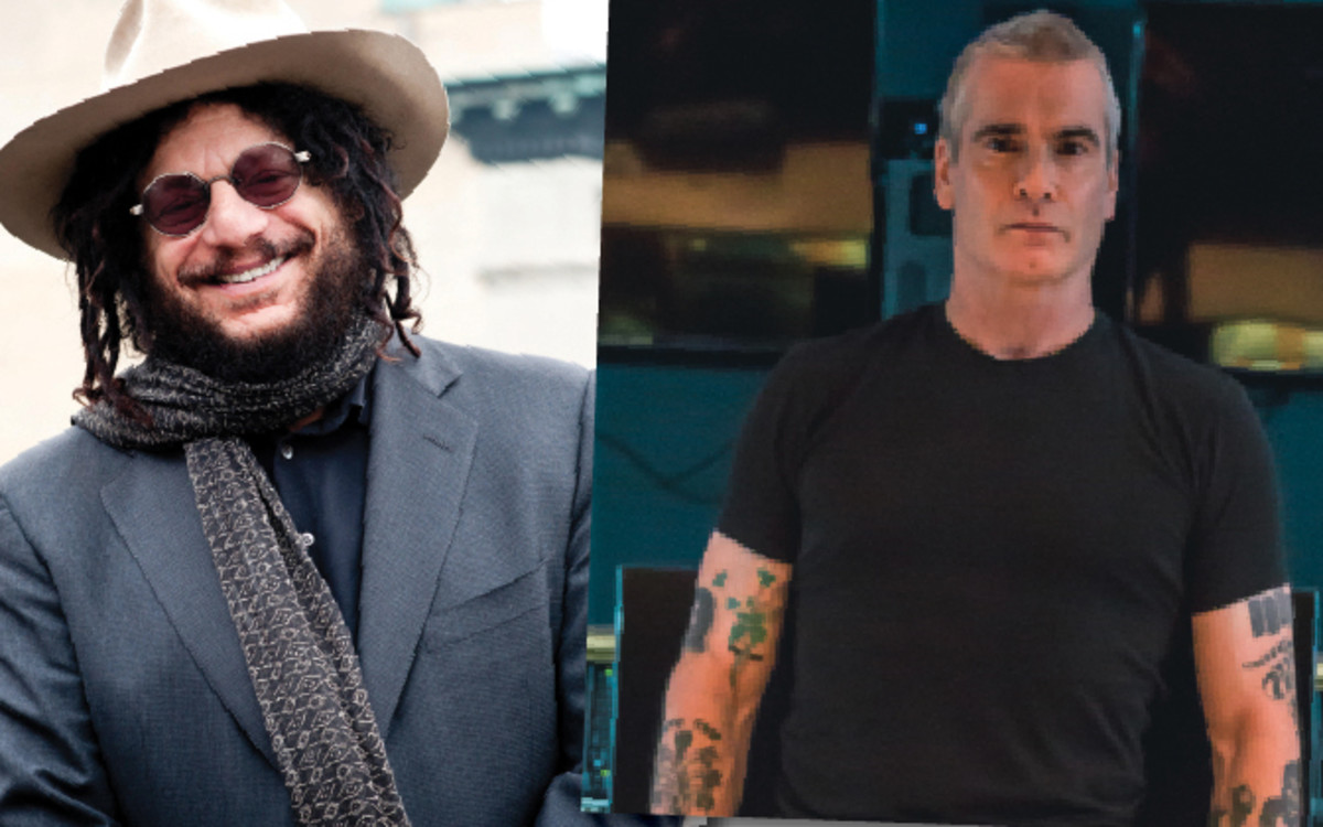 Don Was (left) And Henry Rollins are curators of the new business venture, Sound of Vinyl. Photo by Gabi Porter (Was) and BrandonChase (Rollins).