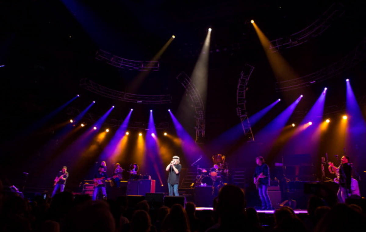 Bob Seger and the Silver Bullet band perform in concert. (Photo by Scott Legato/WireImage)