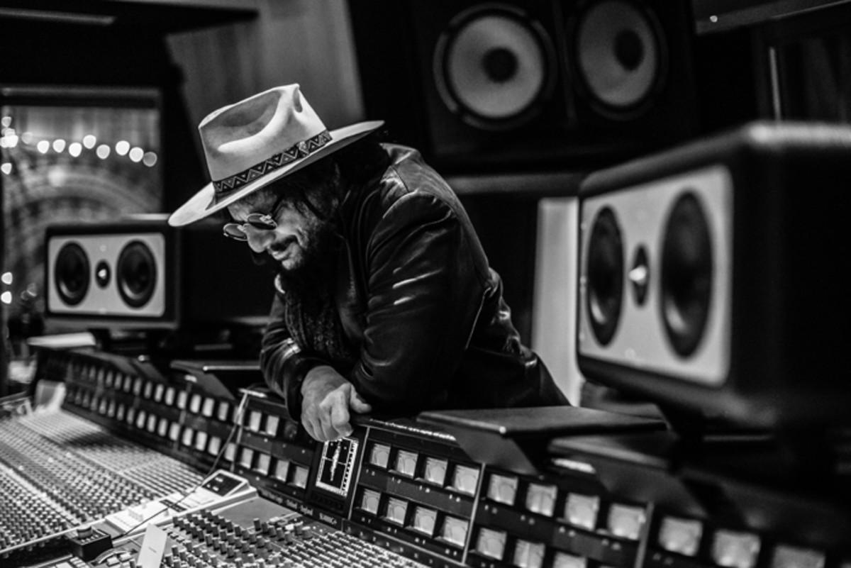 INNER SANCTUM: Don Was in his sanctuary — the recording studio. Photo by Mathieu Bitton.