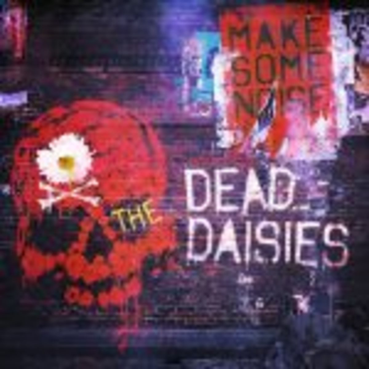 TDD-MAKE SOME NOISE album cover 700x700 Final