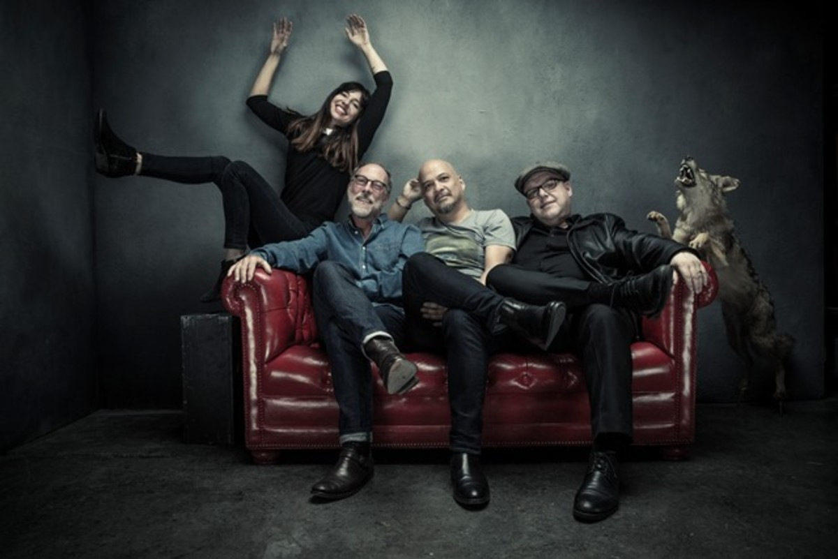 """Pixies are enjoying a great second life with fantastic live shows and their terrific latest album, """"Head Carrier."""" (Photo by Travis Shinn)"""