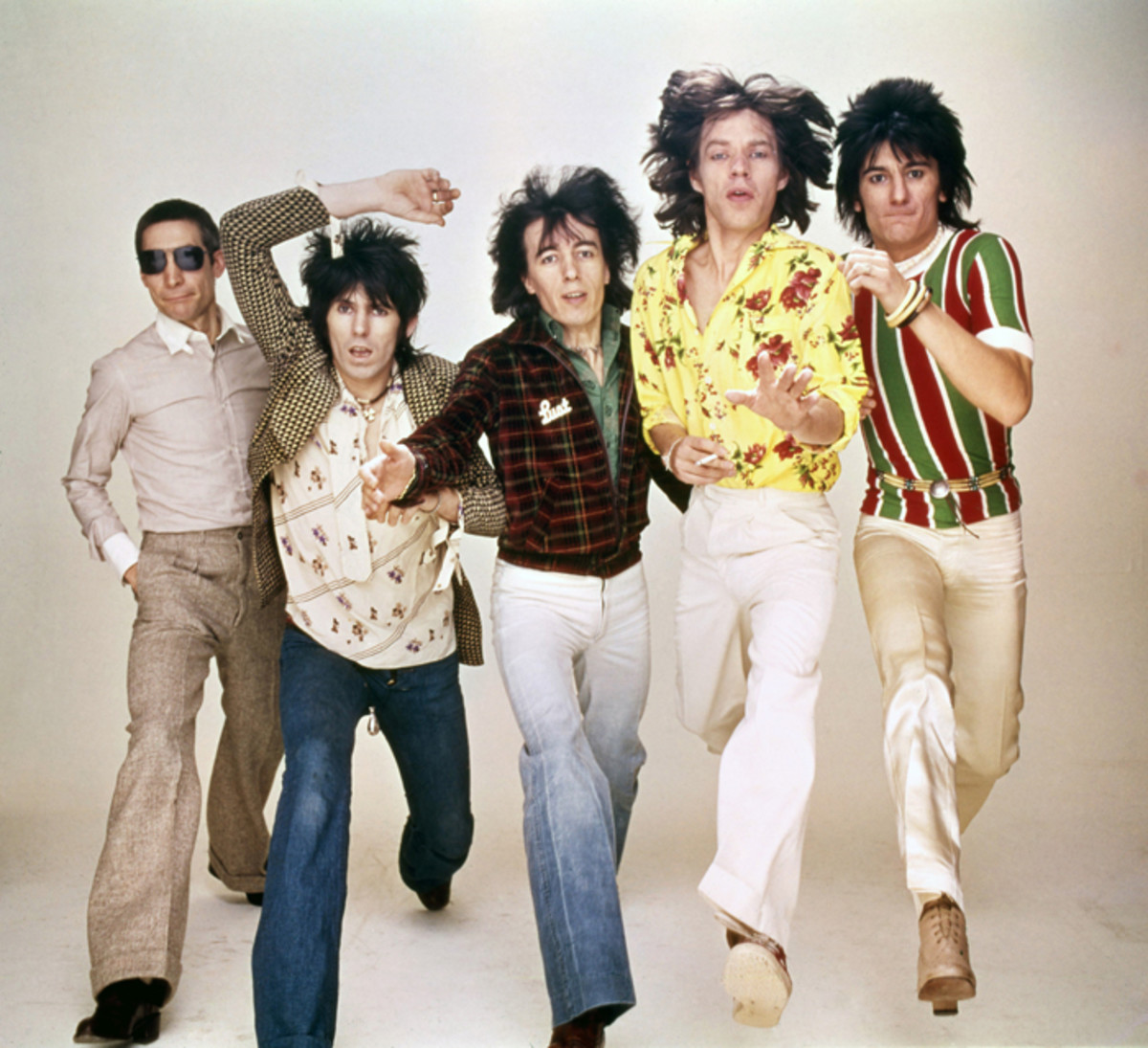 The Rolling Stones in color. All images courtesy of Rolling Stones Archive.