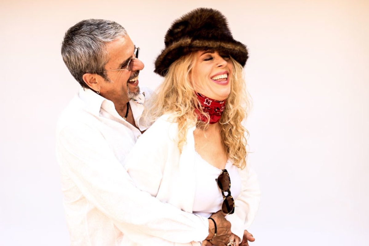 Bobby Whitlock and CoCo Carmel. Photo by Todd-V-Wolfson.