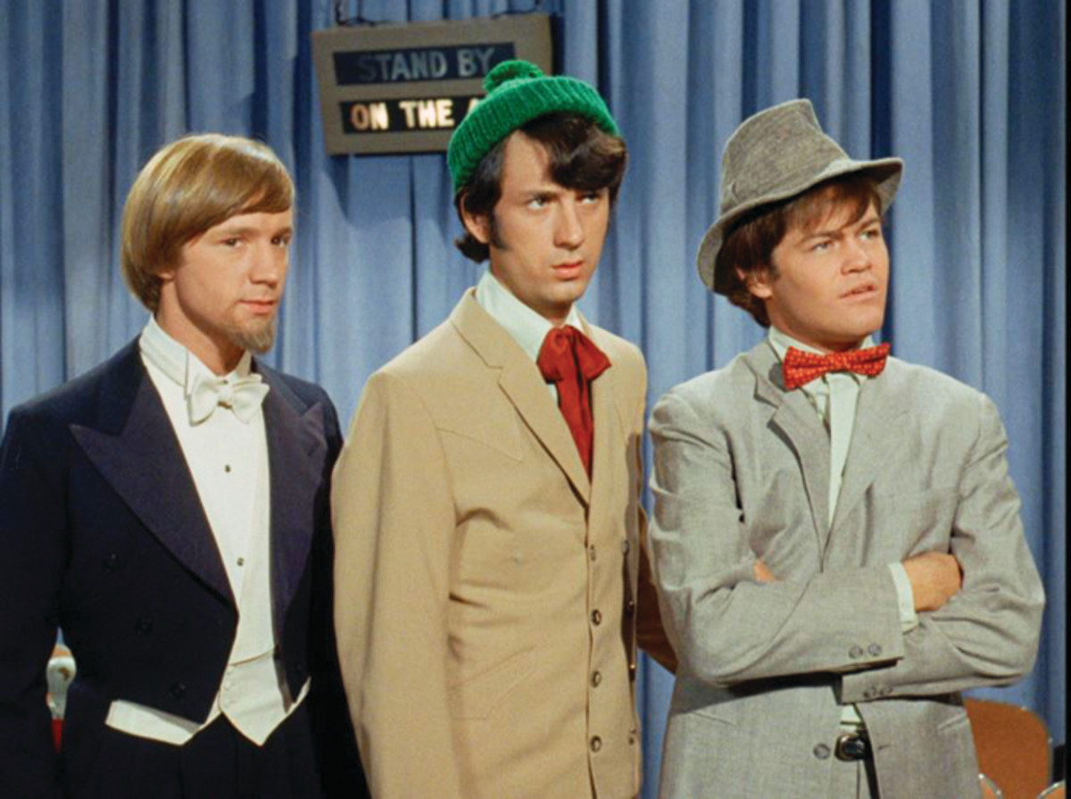 Monkees on the air. Photo courtesy of Rhino.