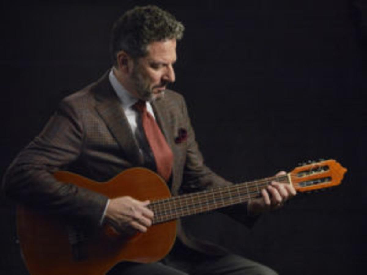 Guitarist John Pizzarelli by Jacob Blickenstaff