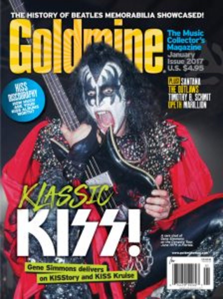 Read a KISS Kruise diary in the January 2017 of Goldmine. Click here to find out where to pick up an issue on the newsstand.