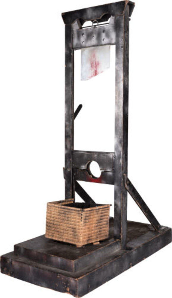 Alice Cooper stage-used guillotine from the Billion Dollar Babies Tour (1973)