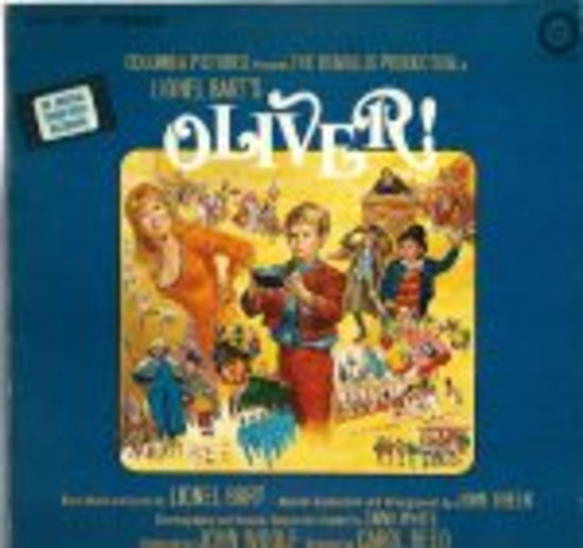 Lionel-Bart-Oliver-Soundtrack-LP-VG-Canada-RCA-COSD-5501-Gatefold-191435597414