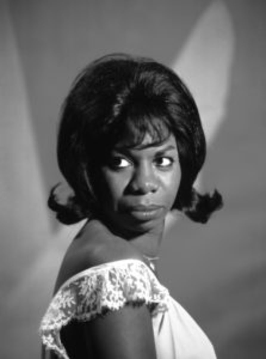 Photo of Nina Simone, circa 1970. (Photo by Michael Ochs Archives/Getty Images)