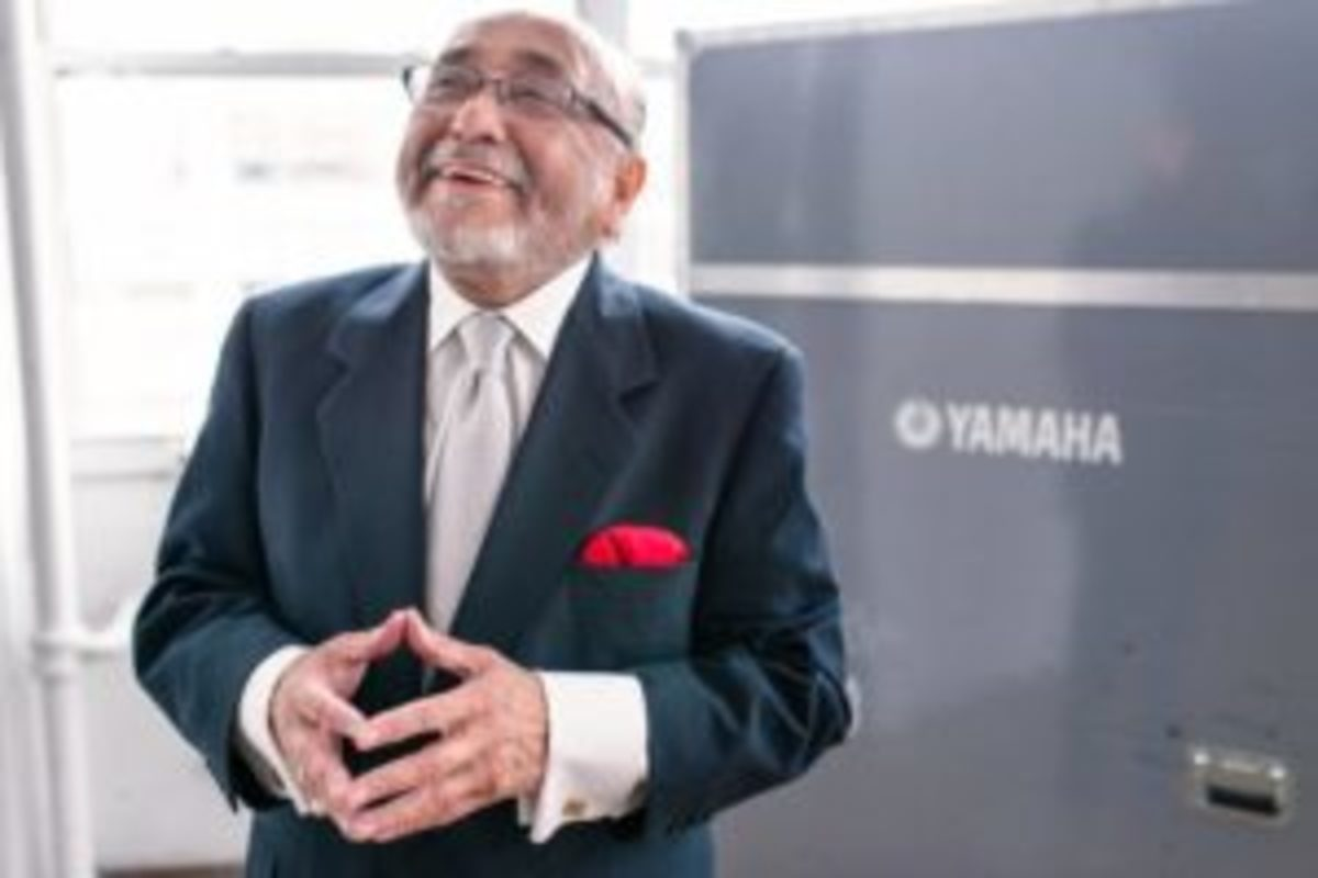 Look up Latin Jazz and you'll find a picture of this man, Eddie Palmieri. Photo: Erik Valind