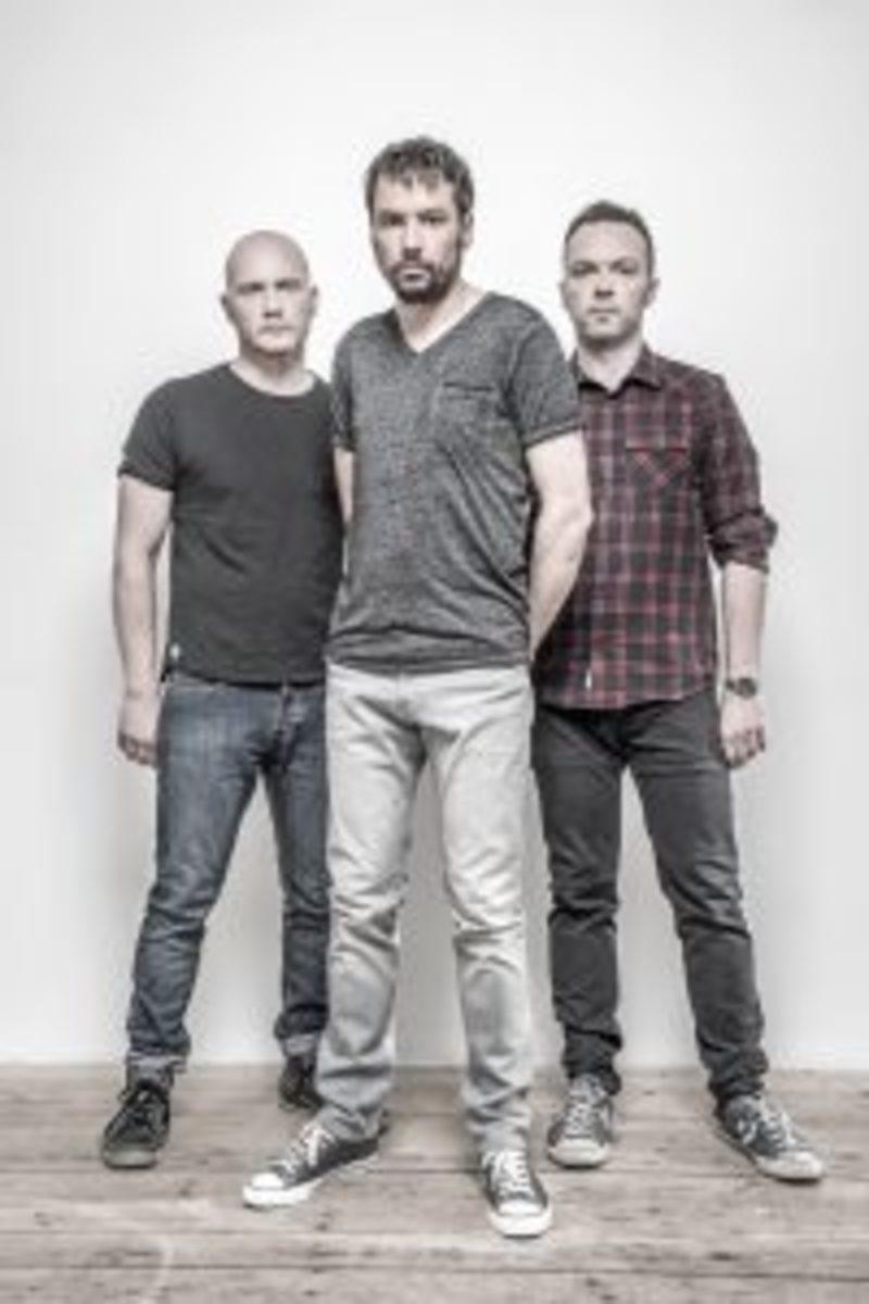 Studio portraits of UK progressive rock band The Pineapple Thief