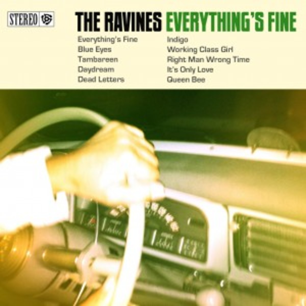 Ravines - Everythings Fine Cover - Hi Res