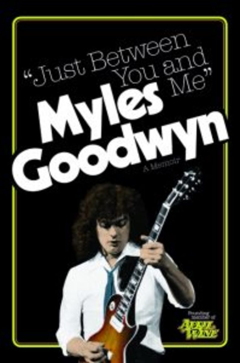 Myles Goodwyn Just Between You and Me cover