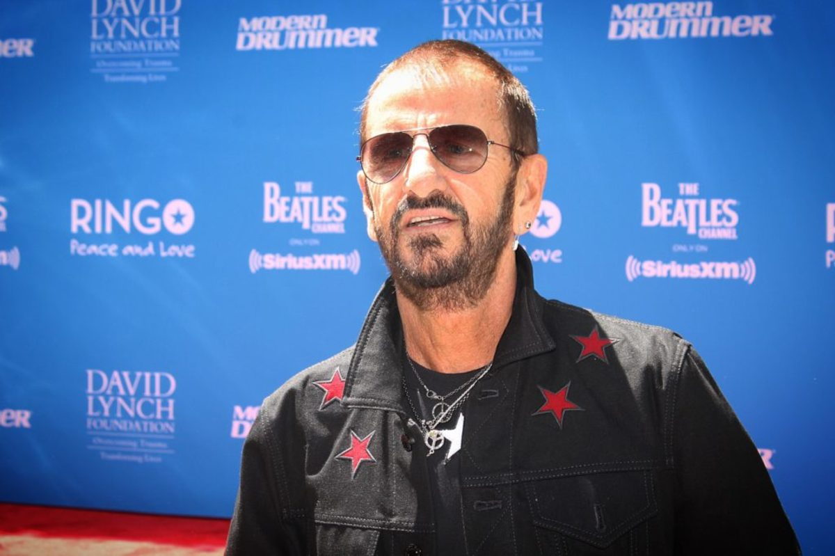 Ringo on the red carpet