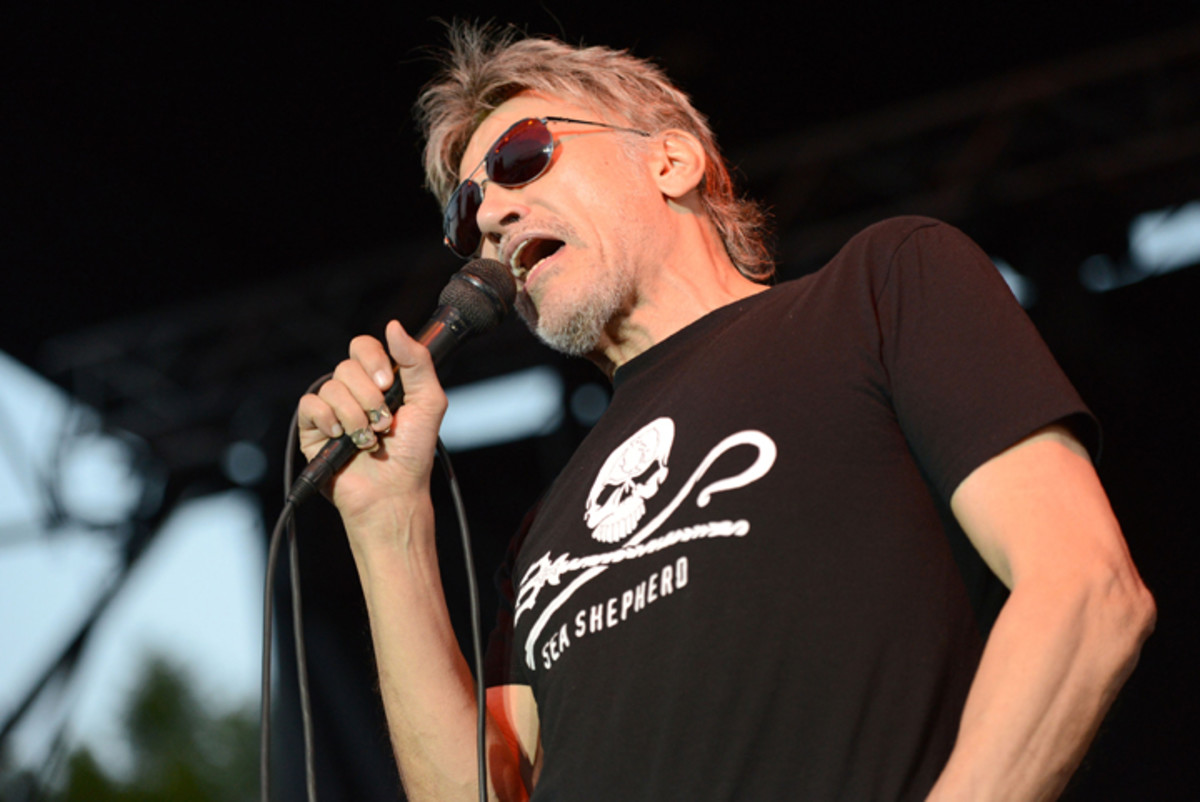 Singer John Kay of Steppenwolf performs onstage on May 23, 2015 in Bakersfield, California. (Photo by Scott Dudelson/Getty Images)