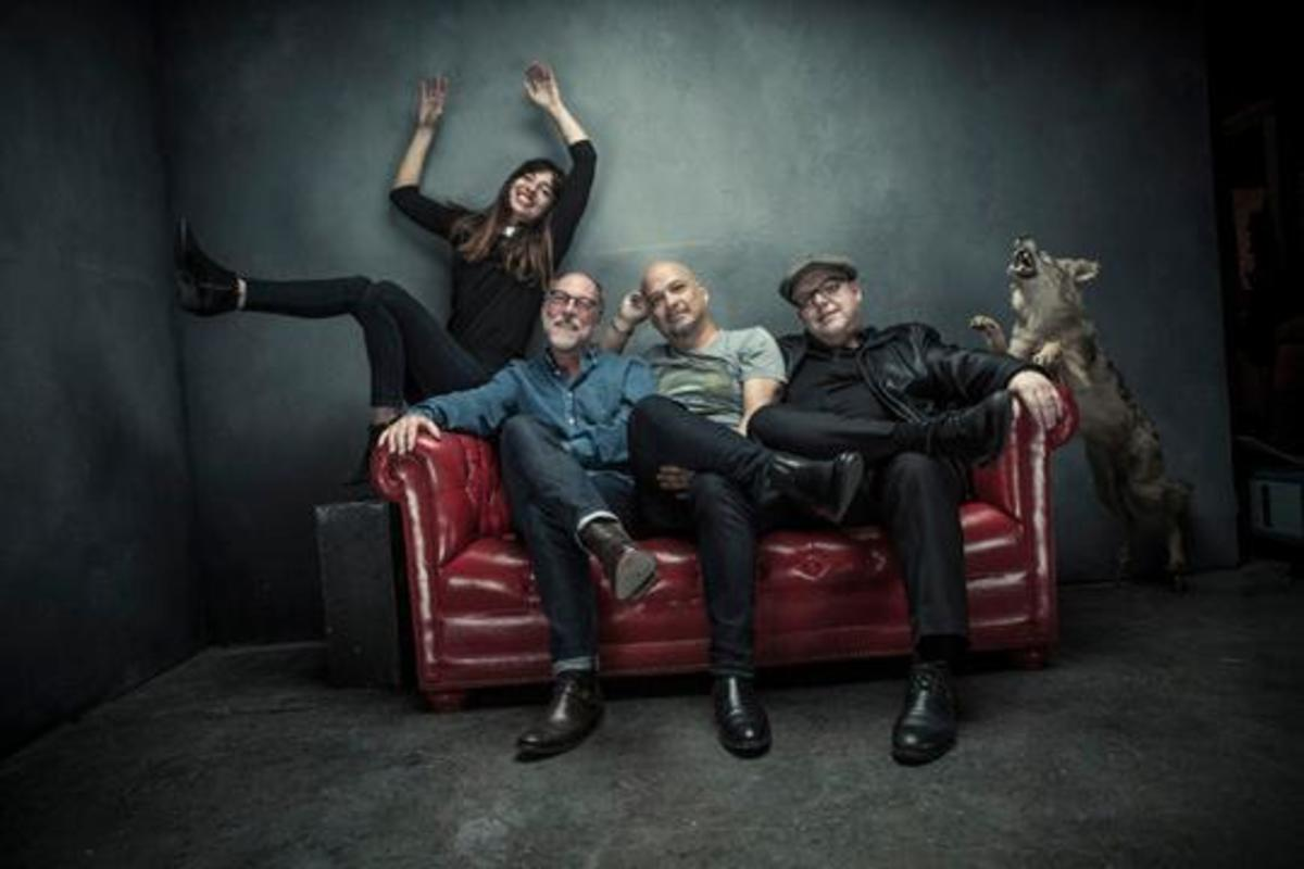 Pixies, L-R: Paz Lenchantin, David Lovering, Joey Santiago, Black Francis Photo credit: Travis Shinn