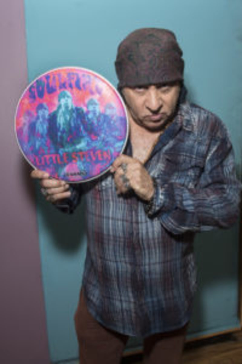Little Steven (Van Zandt) at Renegade Studios on May 25, 2017 in New York City. (Photo by Debra L Rothenberg/Getty Images)
