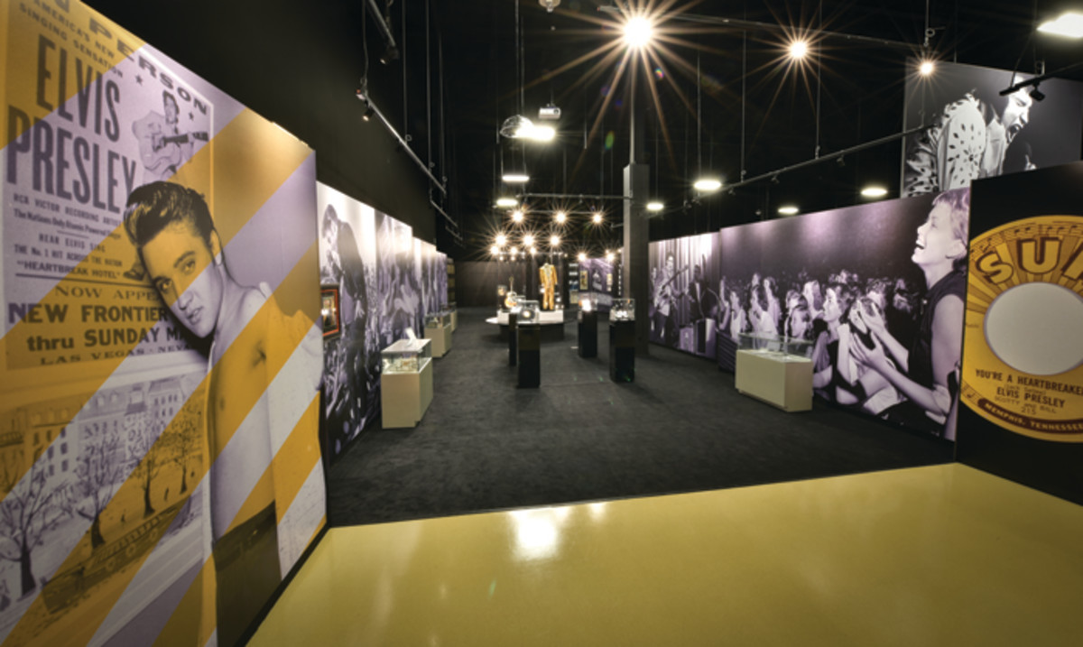 Centerpiece of The Memphis complex: The Entertainer Career Museum covers Elvis' career from his first Sun releases to the jumpsuit he wore at his last live show.