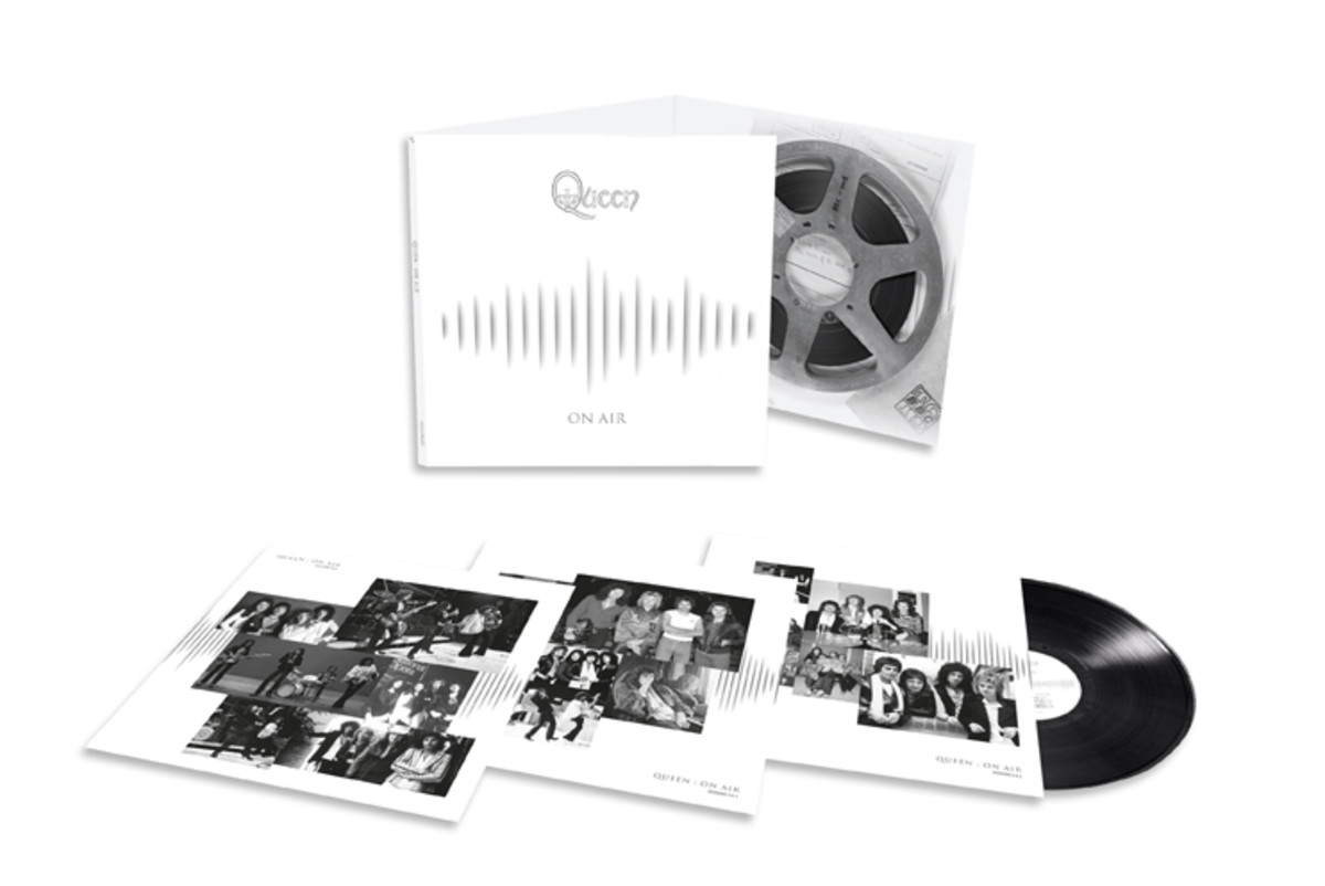 """Queen's """"On Air"""" triple-disc vinyl record release on Hollywood Records."""