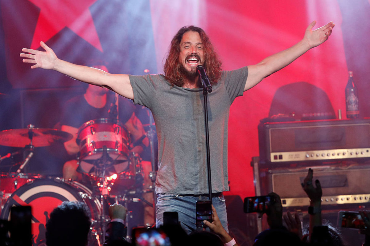 Chris Cornell at Teragram Ballroom on January 20, 2017 in Los Angeles, California. Photo by Taylor Hill/FilmMagic.