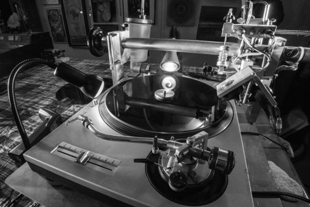 """A """"vinyl cutter"""" at Real Time Vinyl. Photo by Paul Mocey-Hanton"""