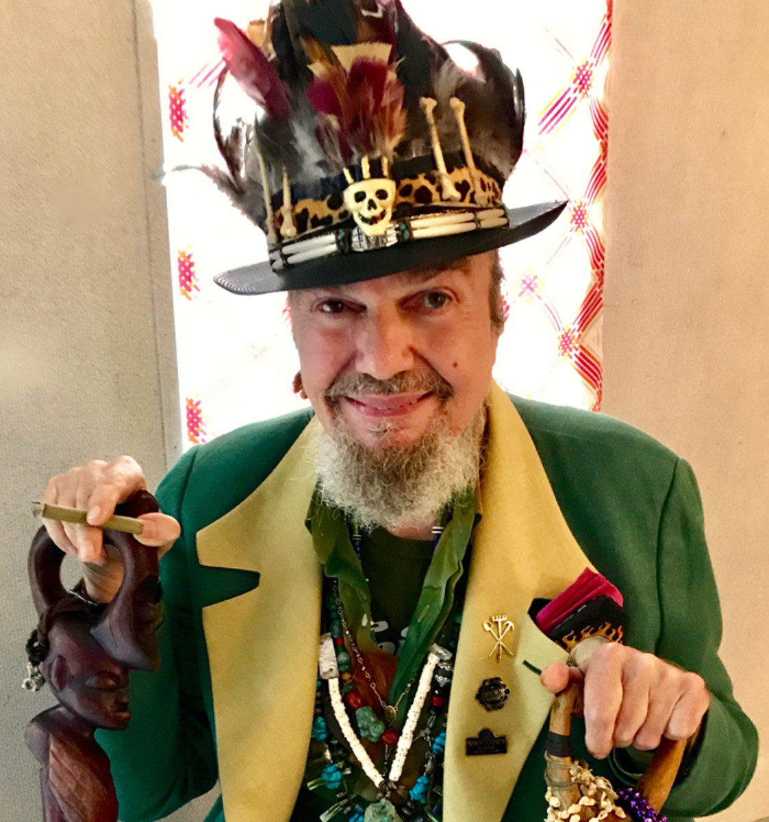 """""""Producer Harold Battiste gave the record his style of psycho-delphia,"""" Dr. John says of the album """"Gris-Gris."""" """"I didn't want to be the front man but (singer) Ronnie Barron's manager thought it would be a bad career move for him. My conga player 'Didymus' told me that if Bob Dylan can sing, then I can sing, too."""" Photo courtesy of Dr. John."""