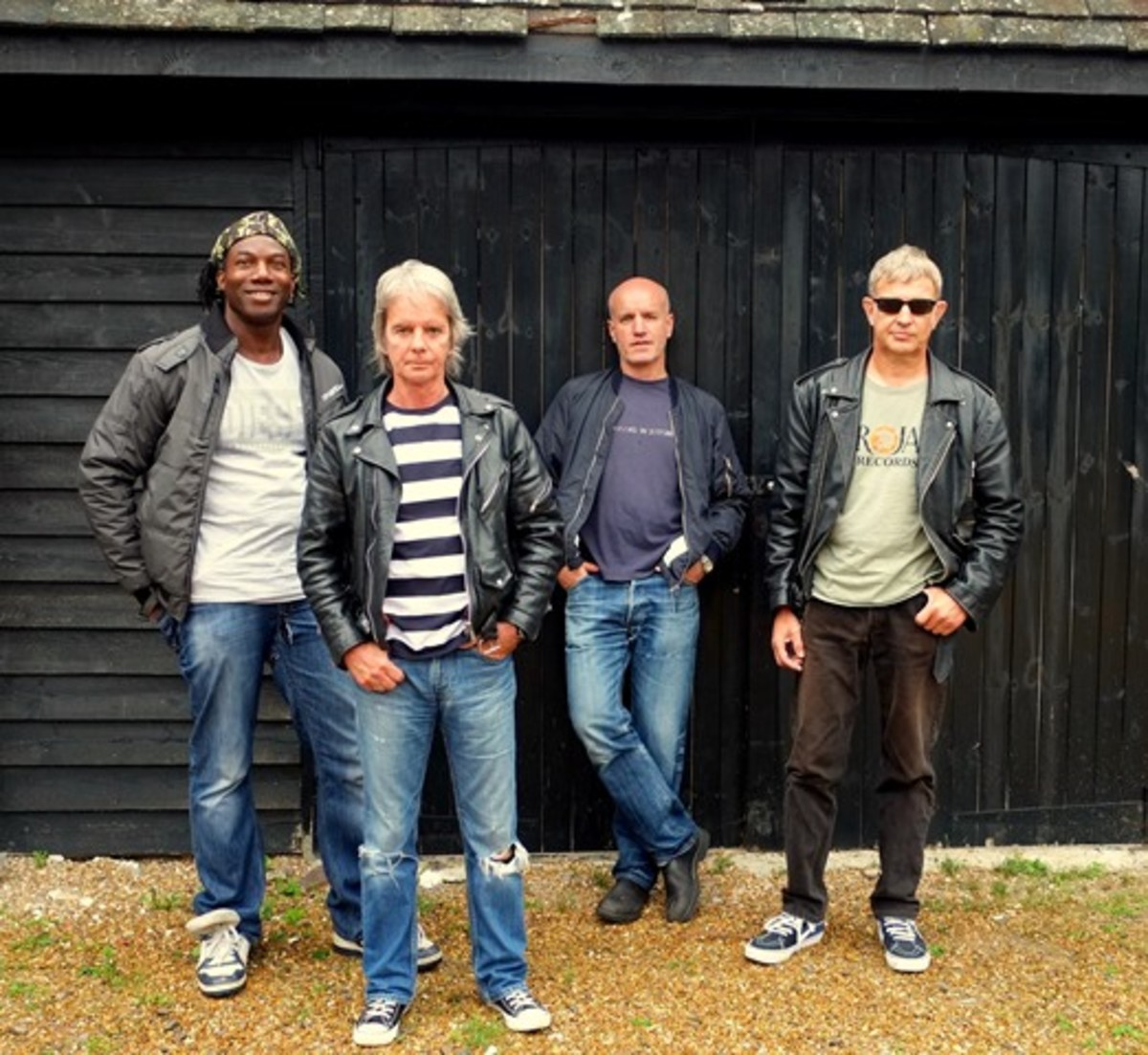 The Vapors' lineup for their shows this year is (left to right) Michael Bowes (drums), Dave Fenton (lead vocals and guitar), Edward Bazalgette (lead guitar) and Steve Smith (bass and vocals).