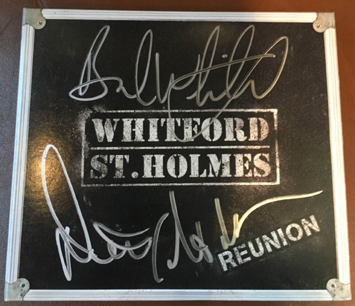 "Five of these autographed copies of the new ""Reunion"" album will be given away."