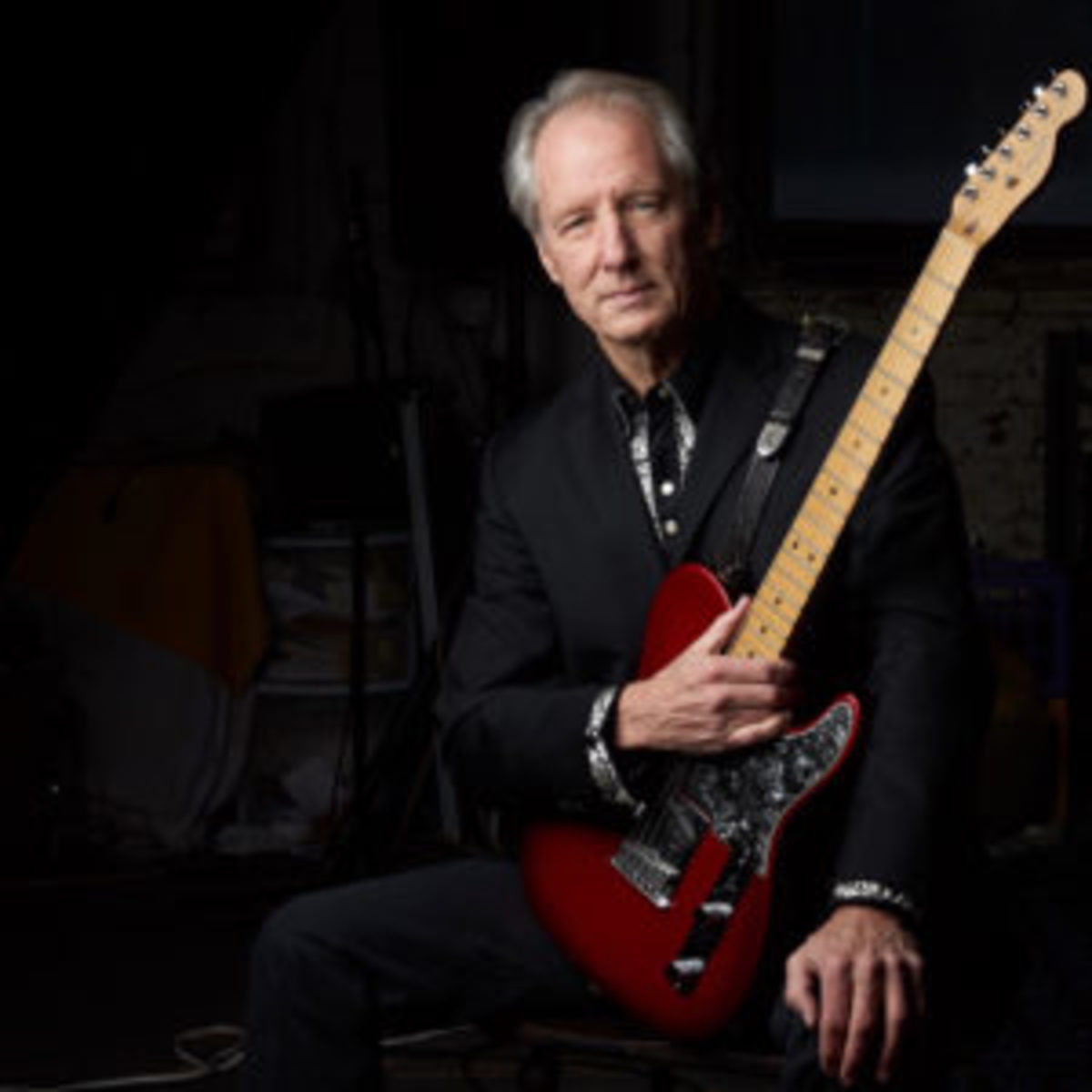 Chuck McDermott with Red Tele. Photo by Kelly Davidson.