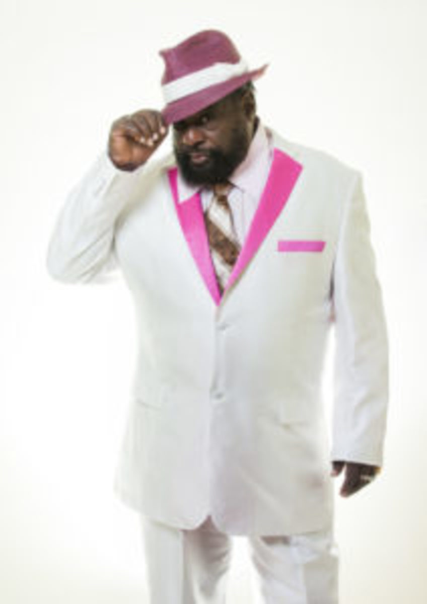 George Clinton, looking sharp. Publicity photo by William Thore Photography.