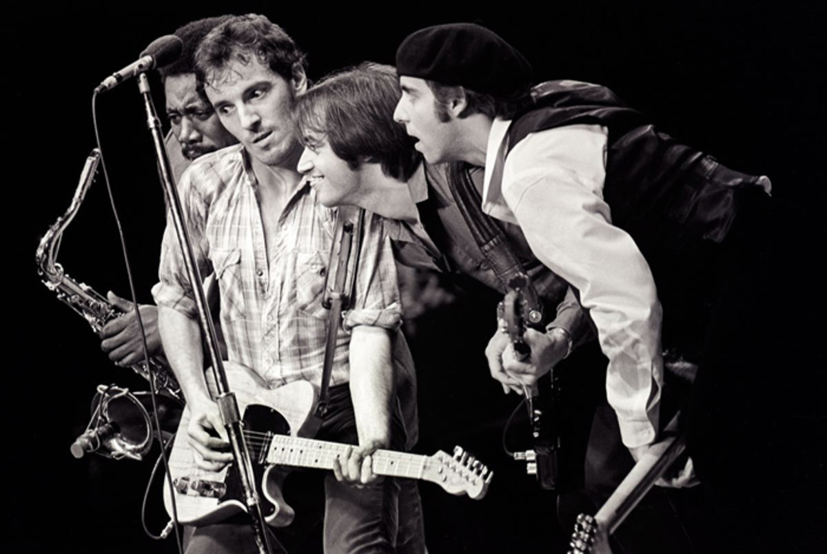 """Bruce Springsteen and the E Street Band in 1980 during the original tour for """"The River."""" Mark Weiss photo."""