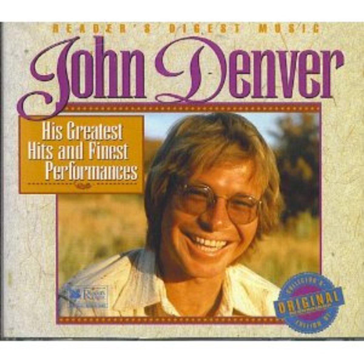 John Denver RD CD cover