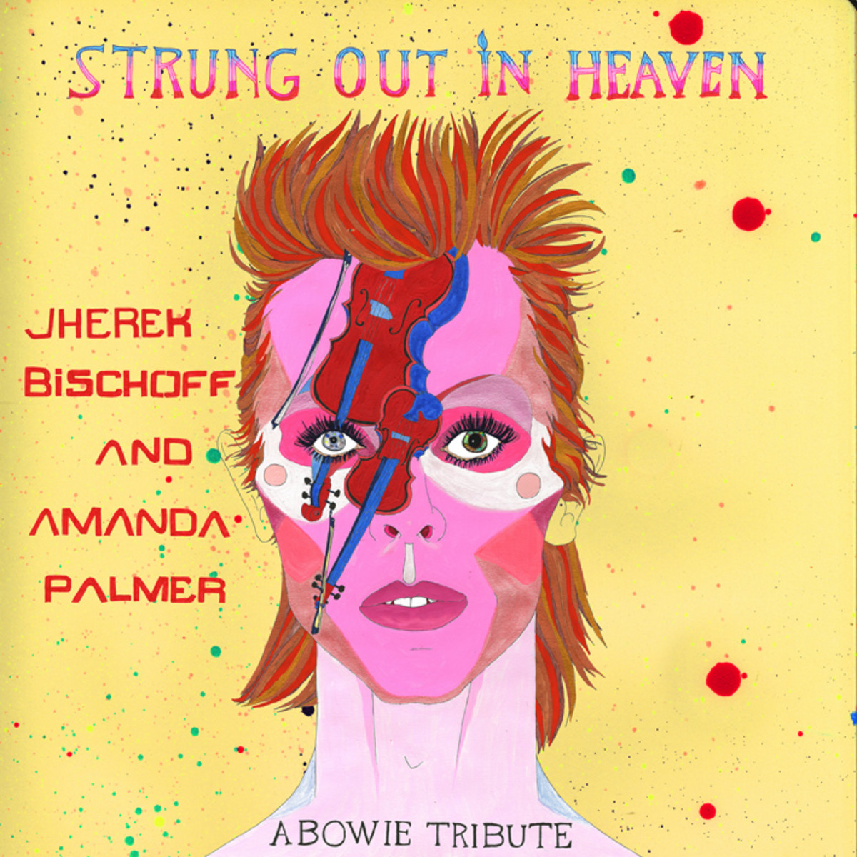 "Strung Out In Heaven"" — a special Black Friday RSD version with cover of Prince's Purple Rain on the B-side. Limited edition of 2,500 copies."