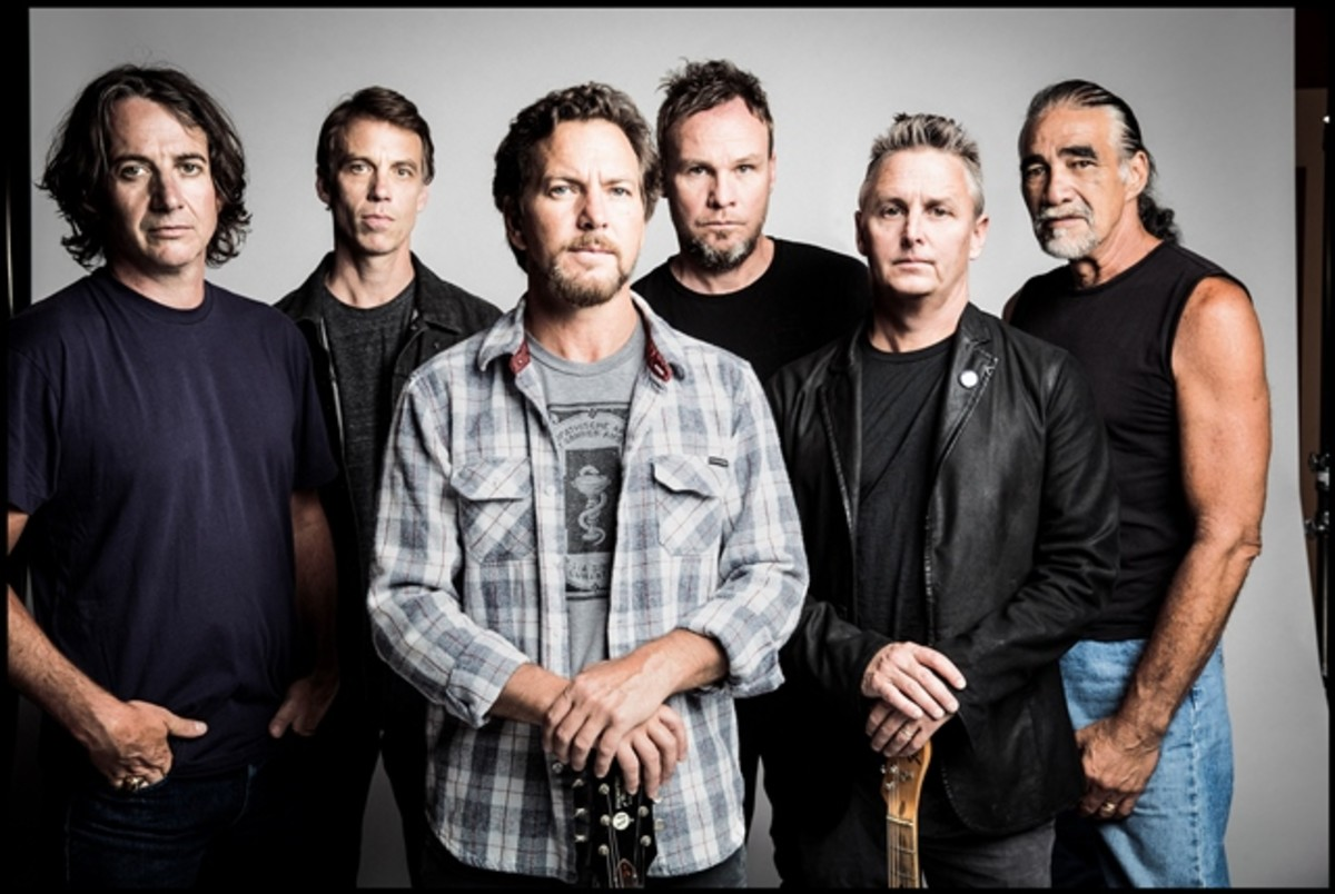 Pearl Jam celebrated May Day with a searing concert at New York City's Madison Square Garden. (Photo by Danny Clinch)