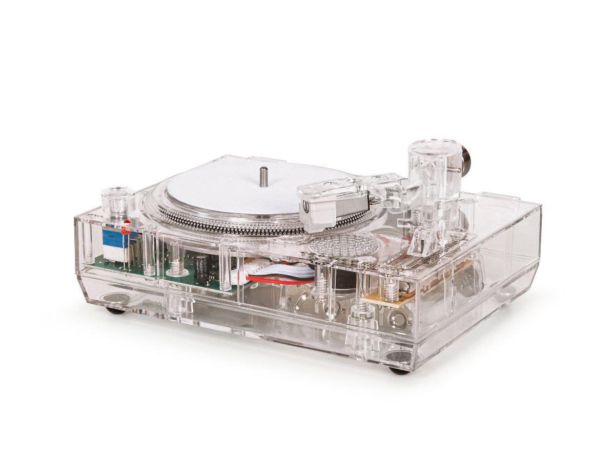 RSD2020 clear mini-turntable