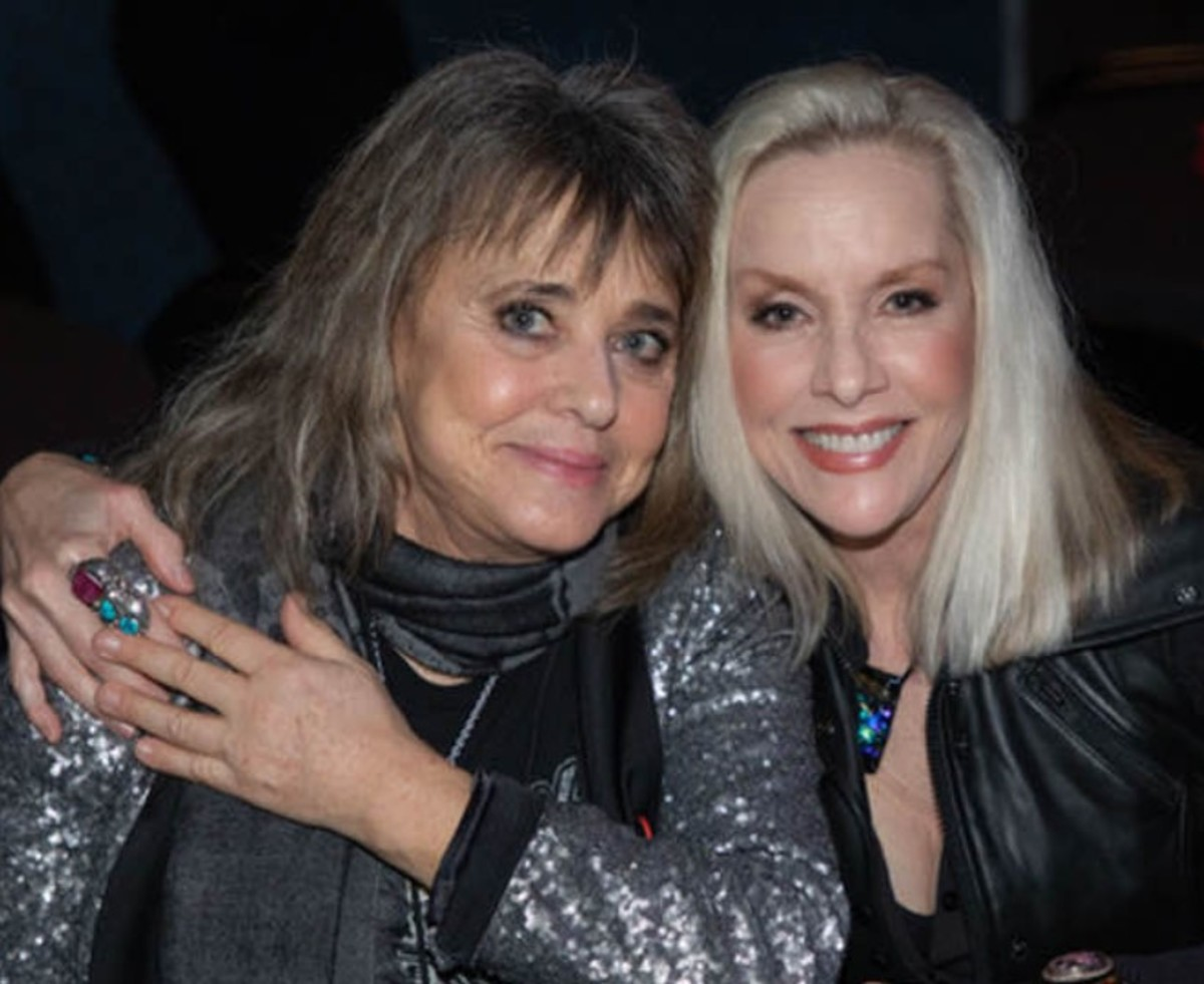 Suzi Quatro and Cherie Currie, courtesy of Cherie Currie