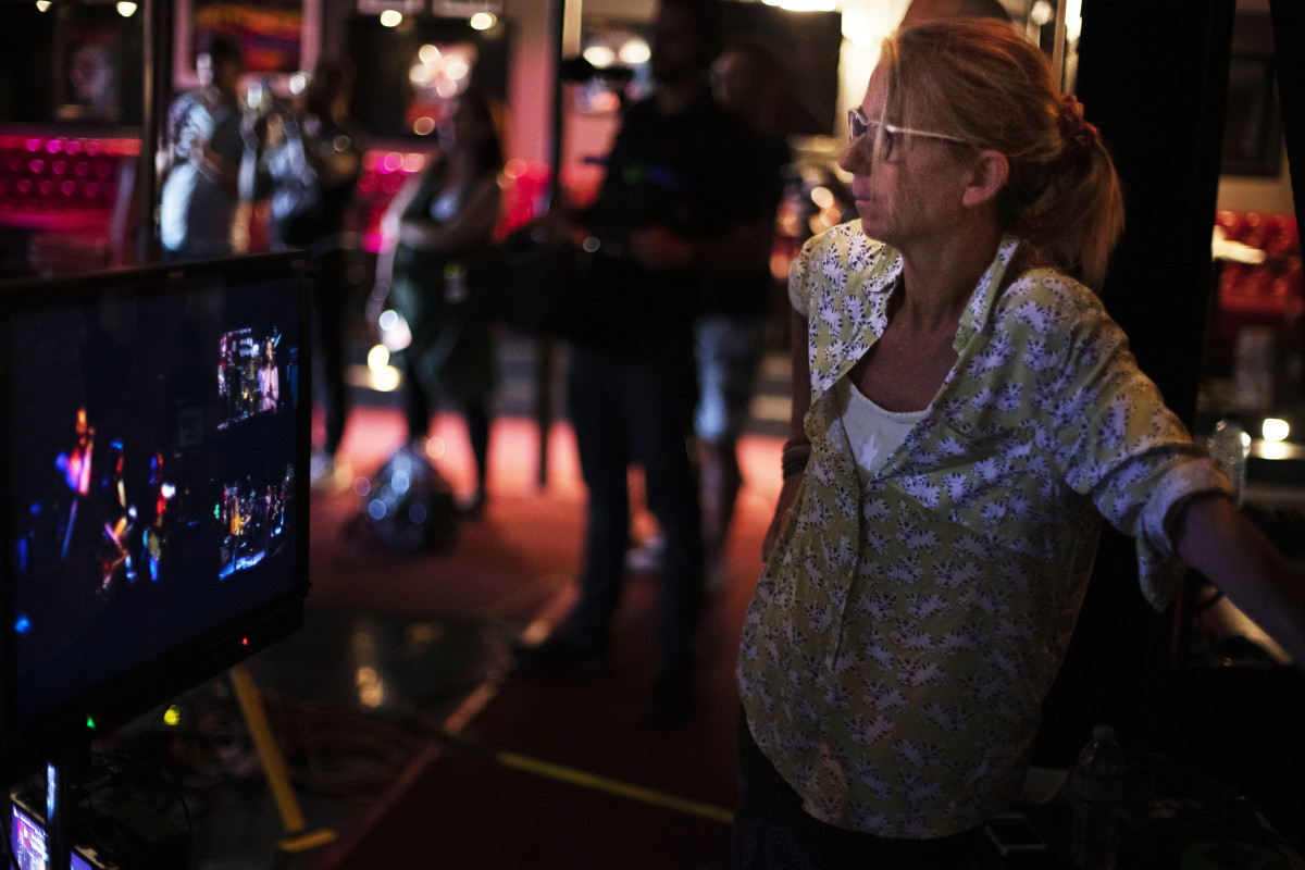 Alison Ellwood, the Director of the film. (Photo by Jules Kueffer)