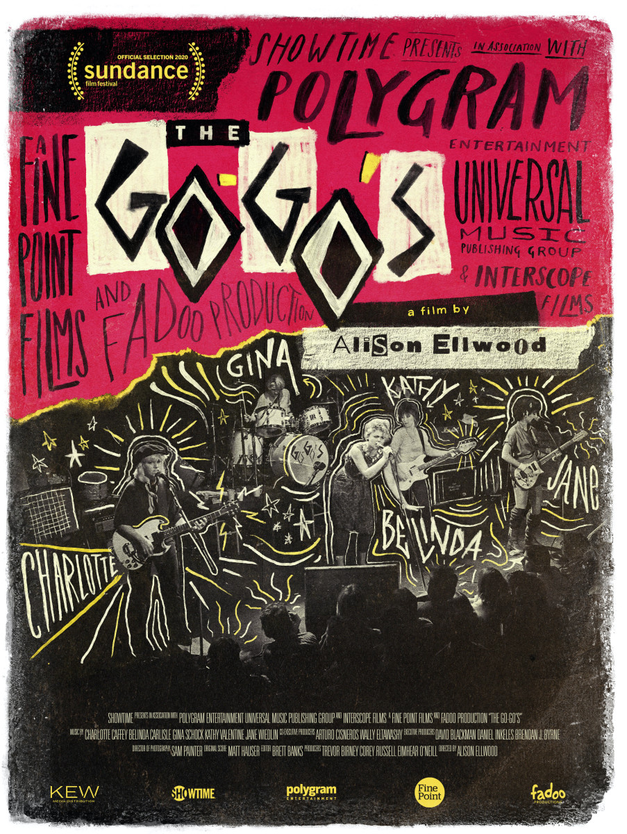 The Go-Go's -- Showtime documentary poster
