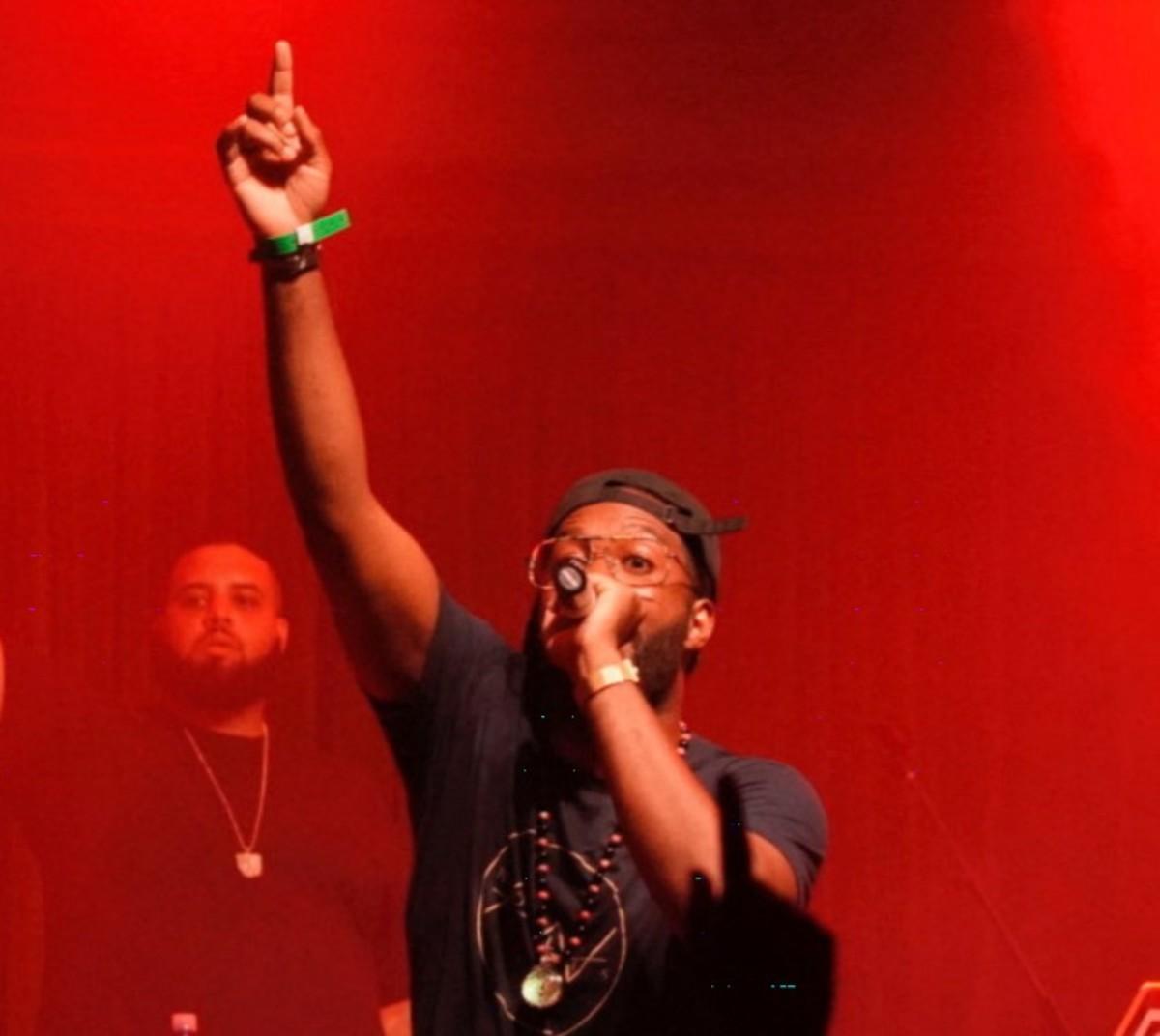 Mickey Factz concert photo courtesy of mickeyfactz.com