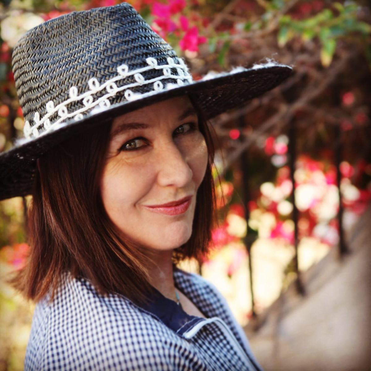Kathy Valentine, publicity photo by Ruby Matheu.