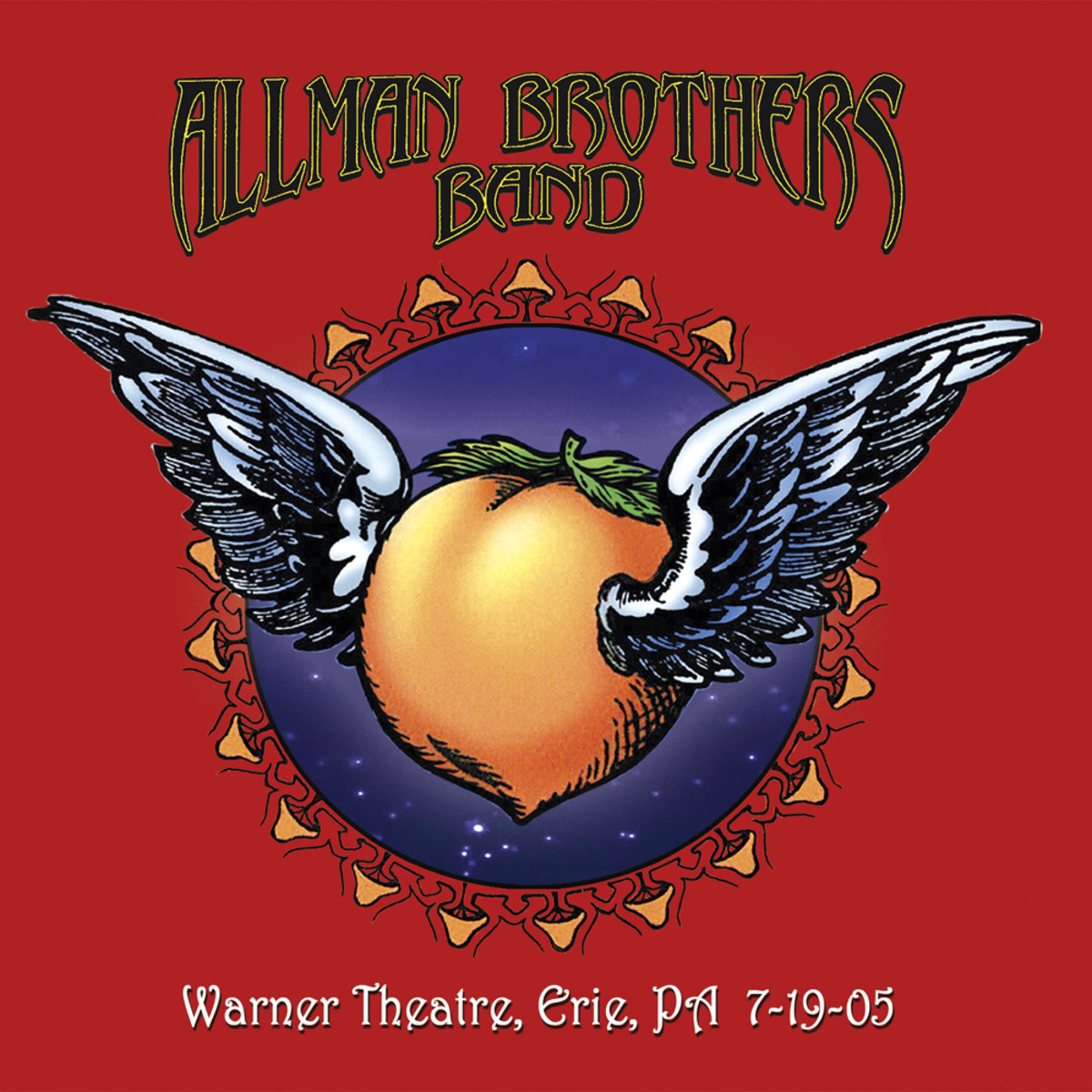 Warner Theatre, Erie, PA 7-19-05 cover art
