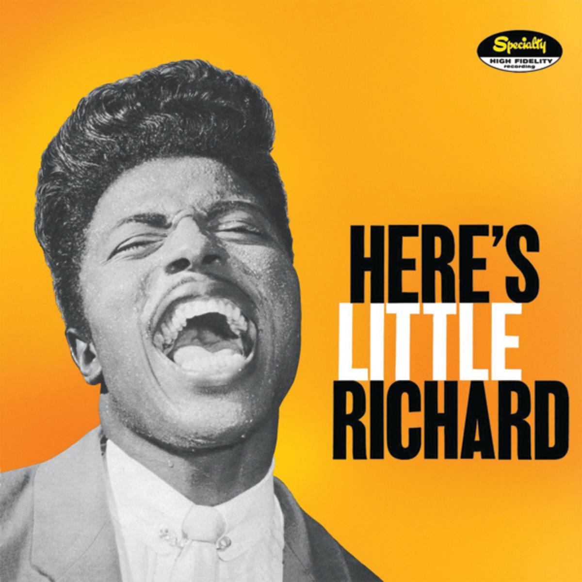 Here Little Richard-LP