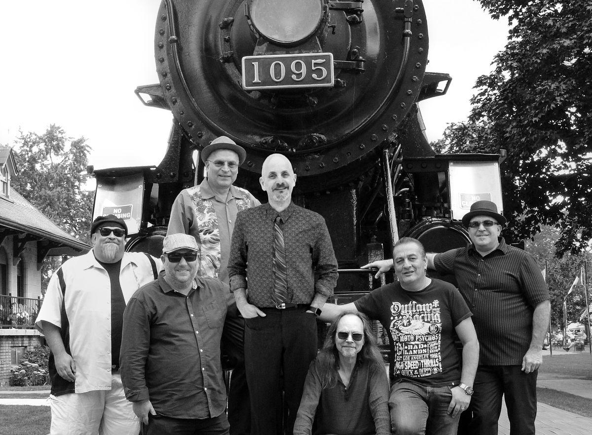 The Smoke Wagon Blues Band courtesy Frank Roszak