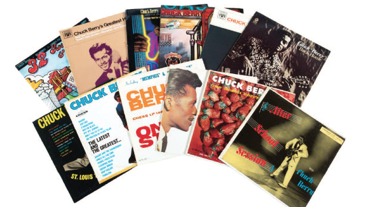 Bill Wyman's Chuck Berry album collection up for auction