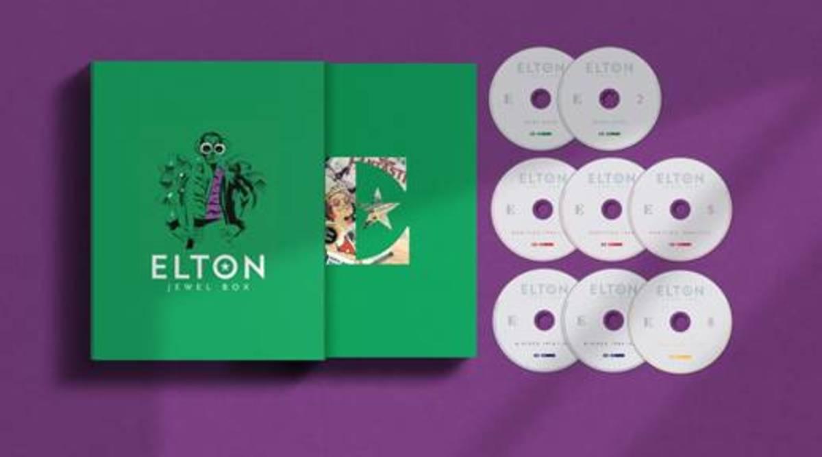 8-CD elton jewel box