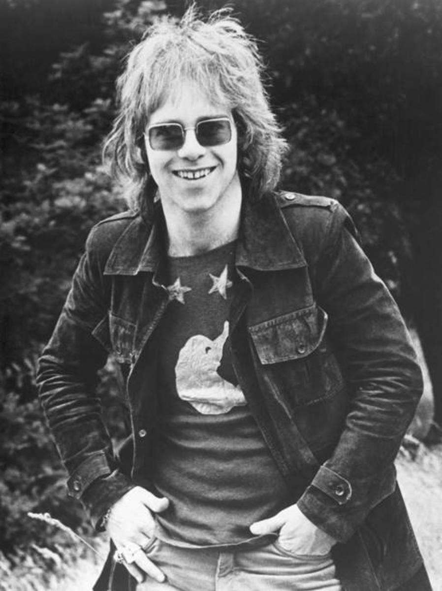 Elton John. Photo by Michael Ochs, Getty Images
