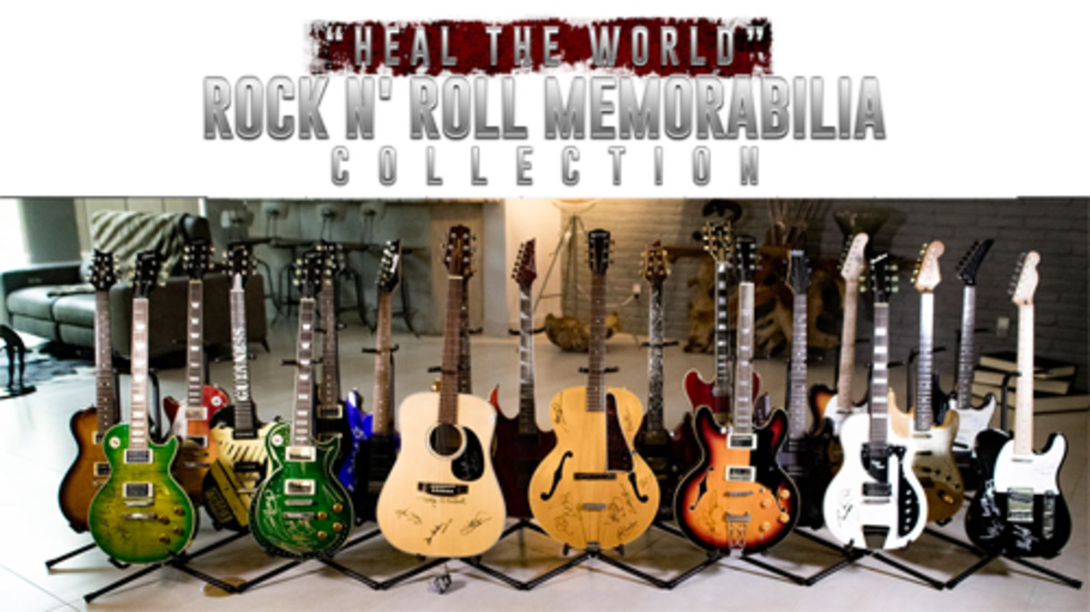 """Heal the World"" Rock N' Roll Memorabilia Collection"